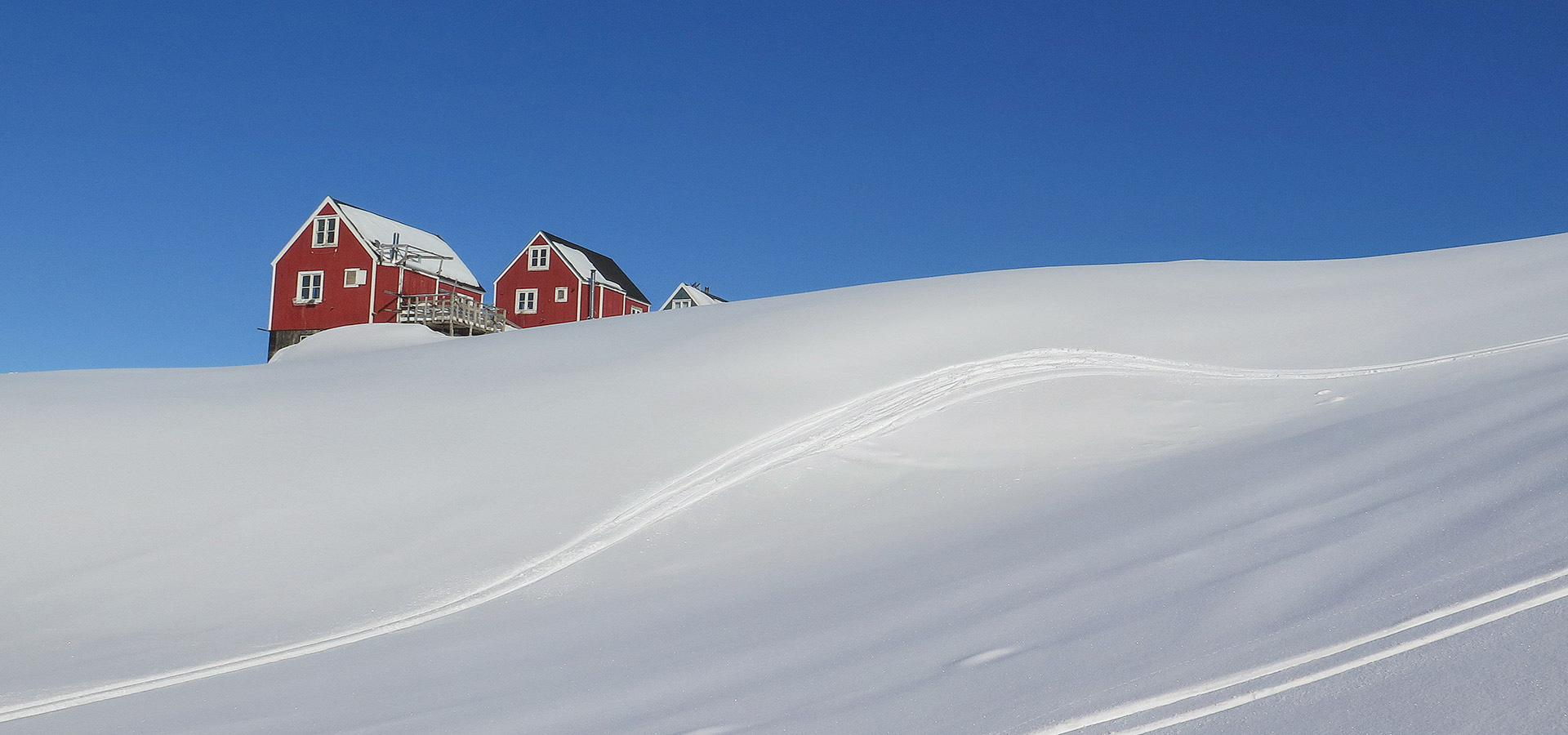 The Red House - Eastgreenland - Aktivitäten - Langlaufski