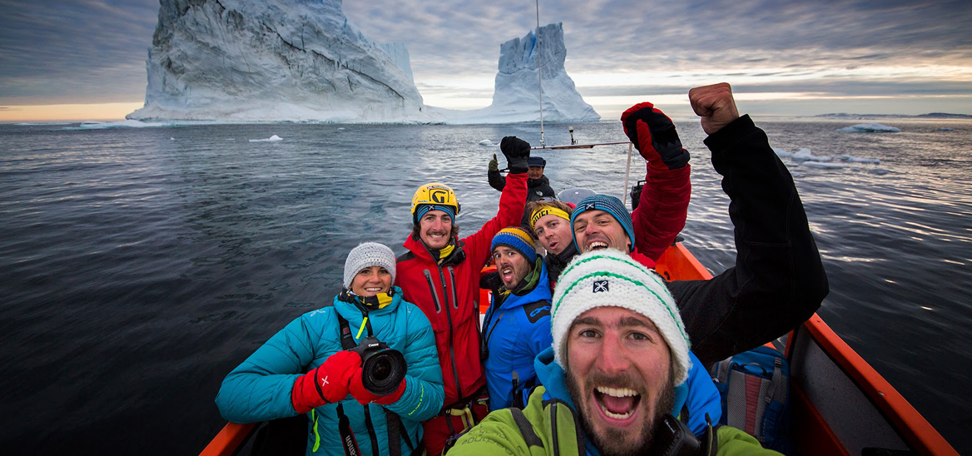 The Red House - Eastgreenland - Montura Iceberg Challenge
