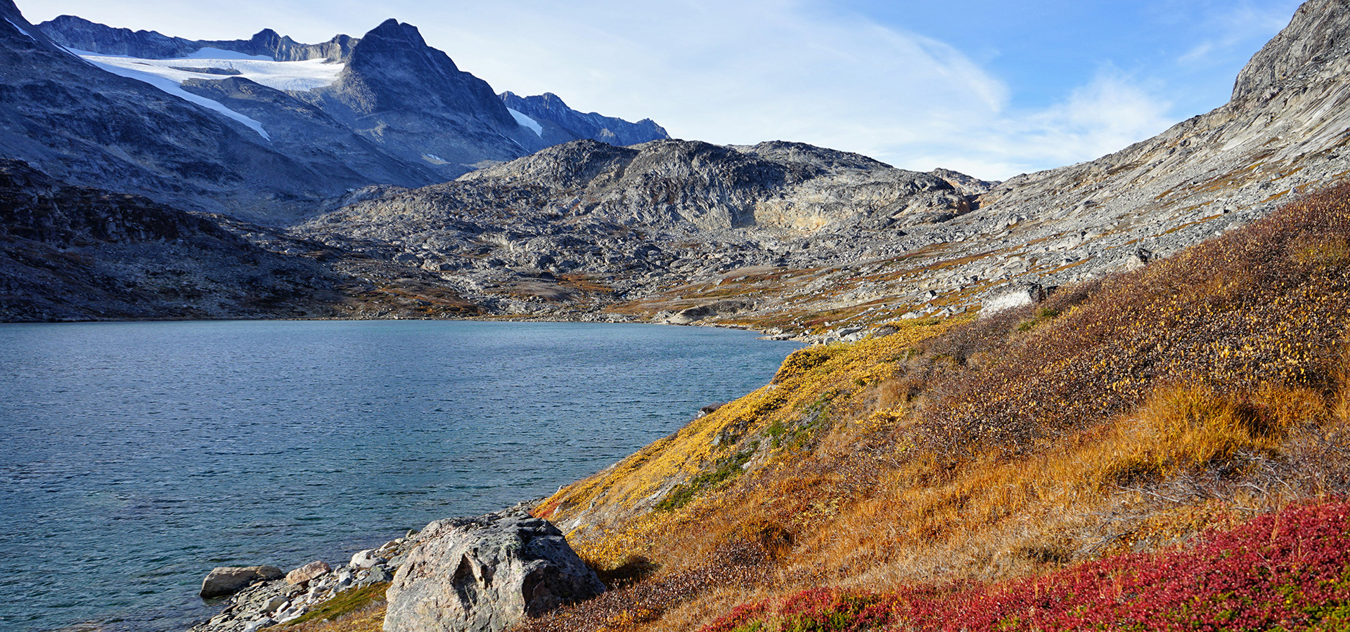 The Red House - Eastgreenland - Geografie - Klima - Herbst